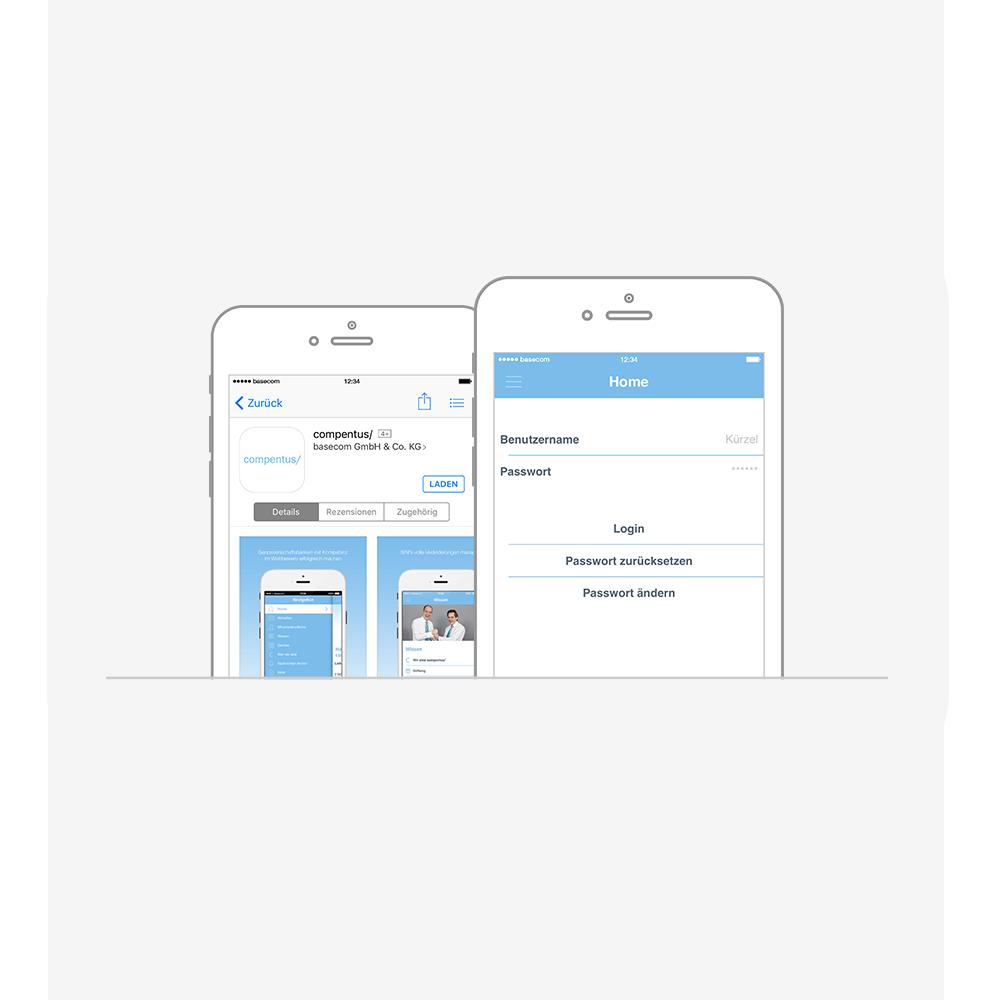 App für extern und intern