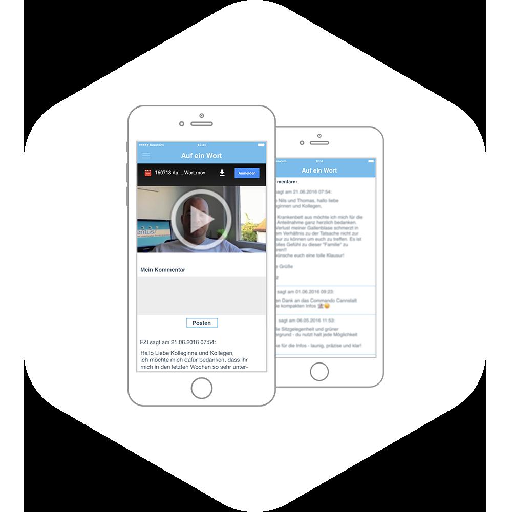 App Video Funktion